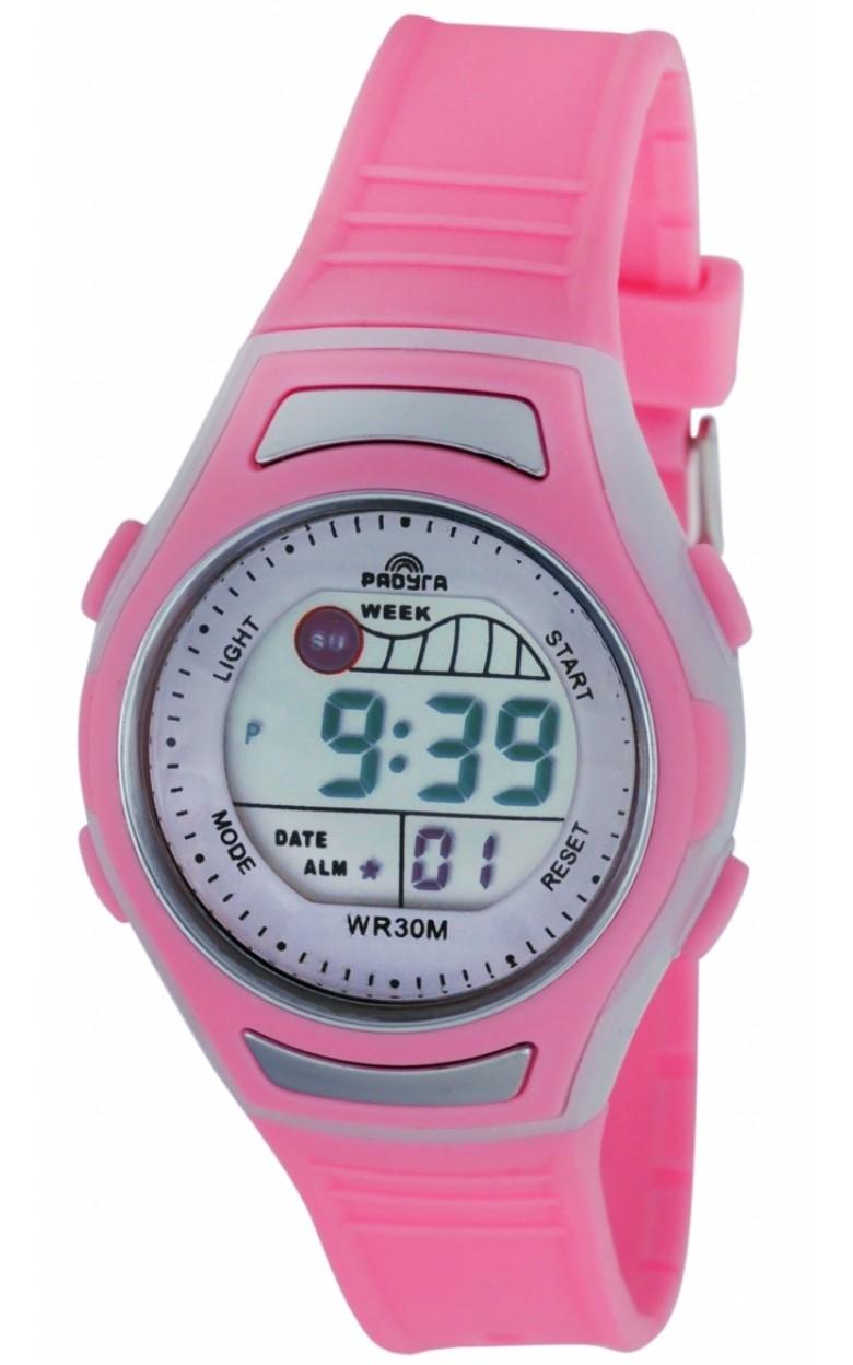 415 розовые российские кварцевые наручные часы Радуга для детей  415 розовые
