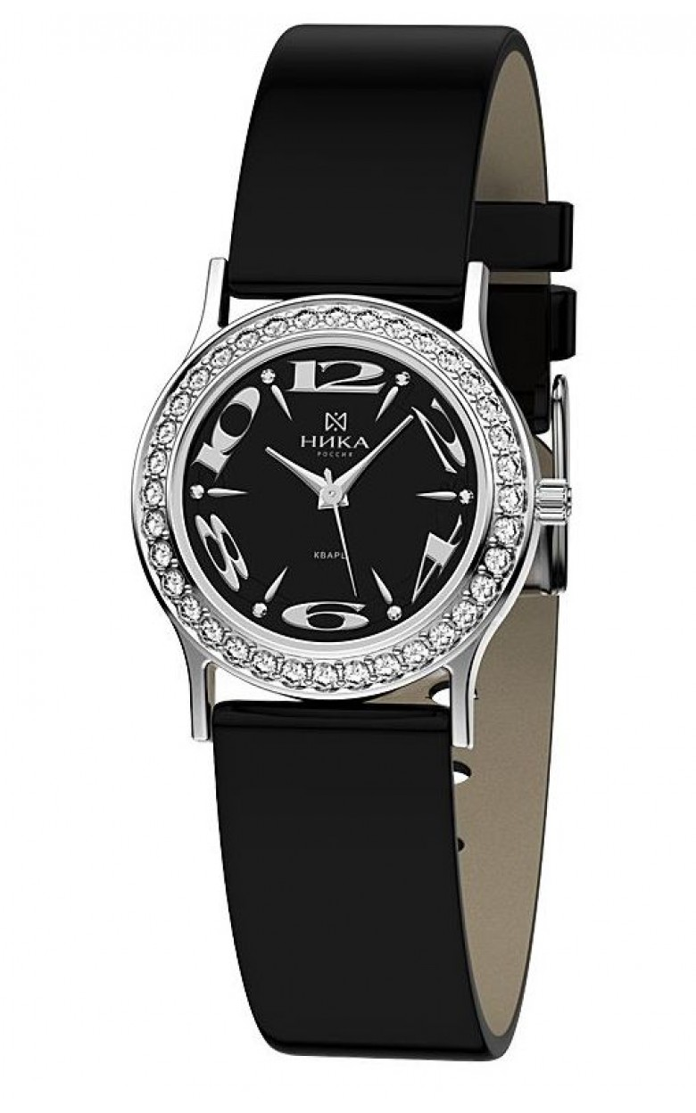 1801.2.9.54Н российские серебрянные женские кварцевые наручные часы Ника