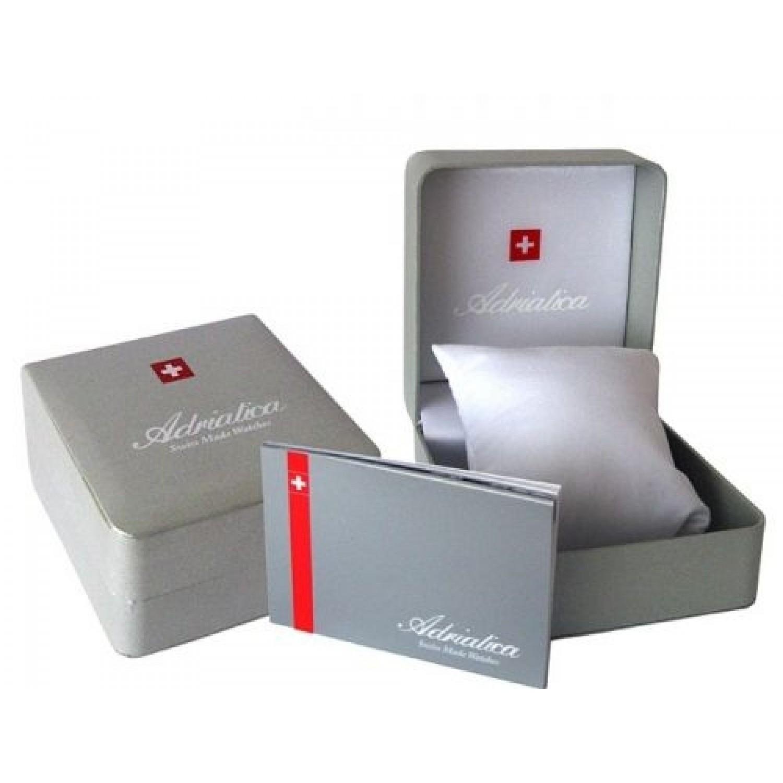 A1087.5254Q швейцарские кварцевые наручные часы Adriatica