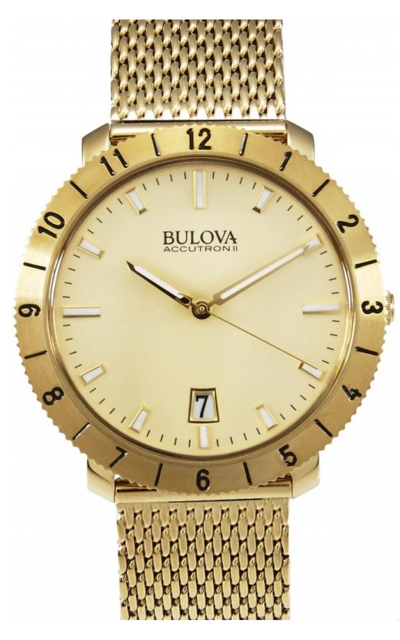 """97B129_ucenka  кварцевые наручные часы Bulova """"Accutron""""  97B129_ucenka"""
