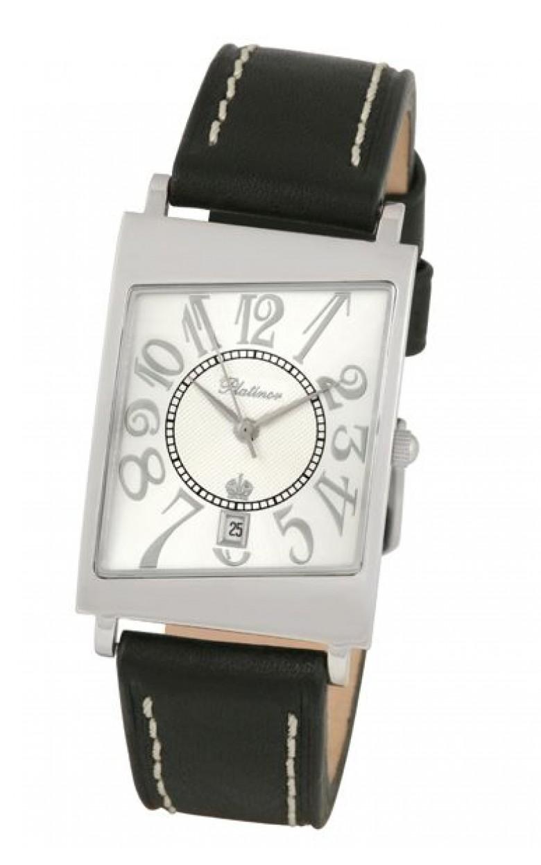 54400 российские серебрянные мужские кварцевые часы Platinor