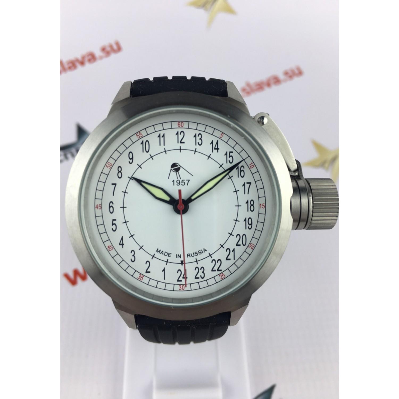 """2415.4 российские водонепроницаемые механические наручные часы UMNYASHOV """"24 часа"""" для мужчин  2415.4"""