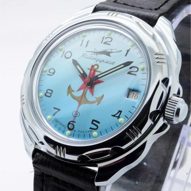"""211084/2414 российские военные механические наручные часы Восток """"Командирские"""" для мужчин  211084/2414"""