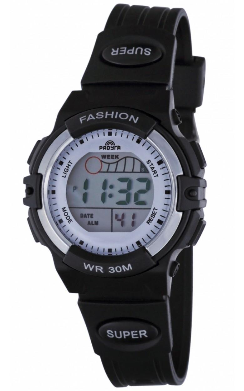 416 черные российские детские кварцевые наручные часы Радуга  416 черные
