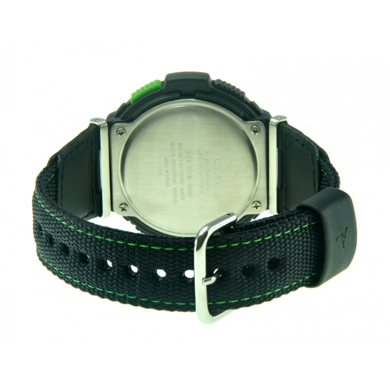 "SGW-100B-3A2 японские водонепроницаемые кварцевые наручные часы Casio ""G-Collection"" для мужчин  SGW-100B-3A2"
