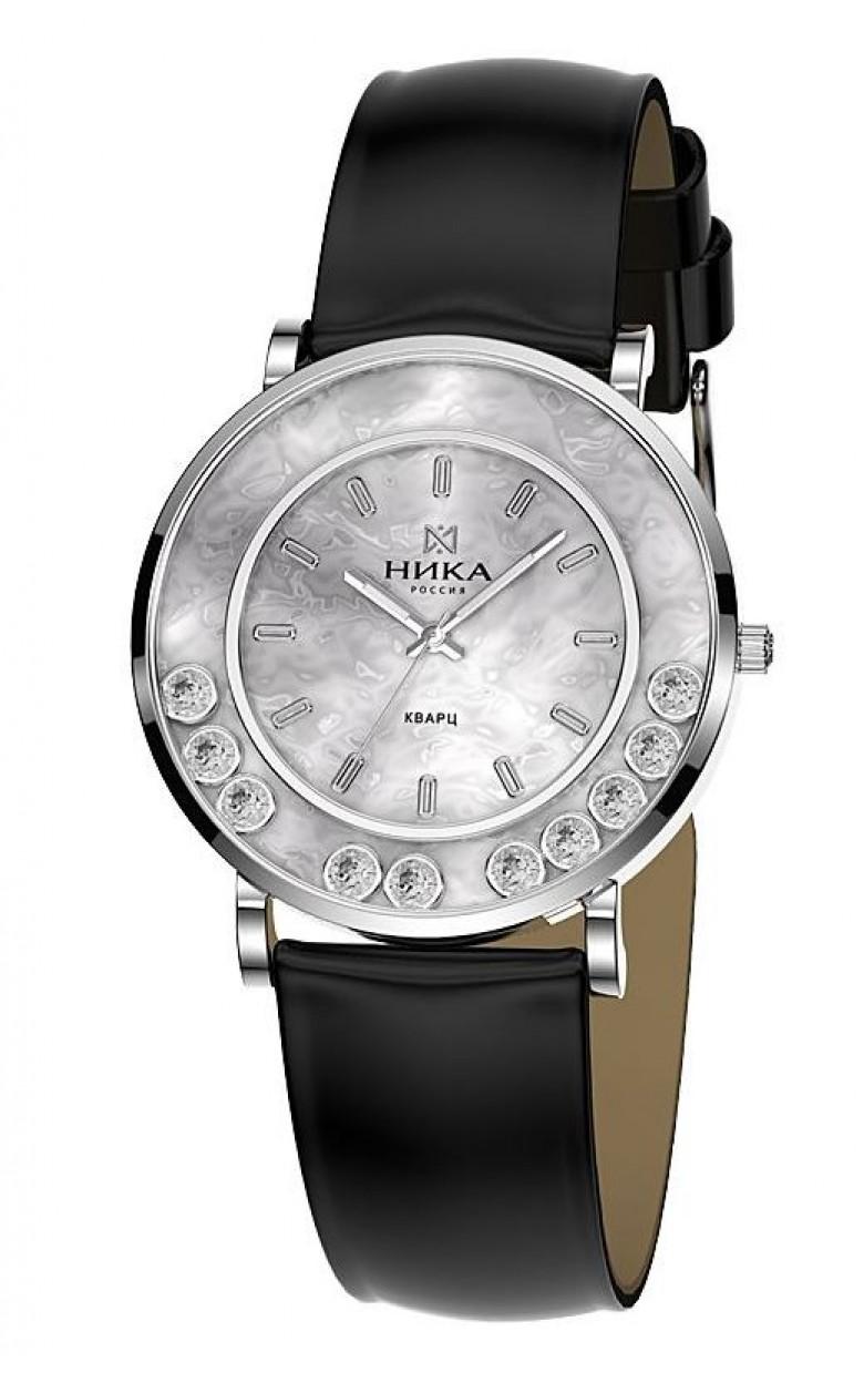 9023.0.9.35Н-13,74 российские серебрянные женские кварцевые наручные часы Ника