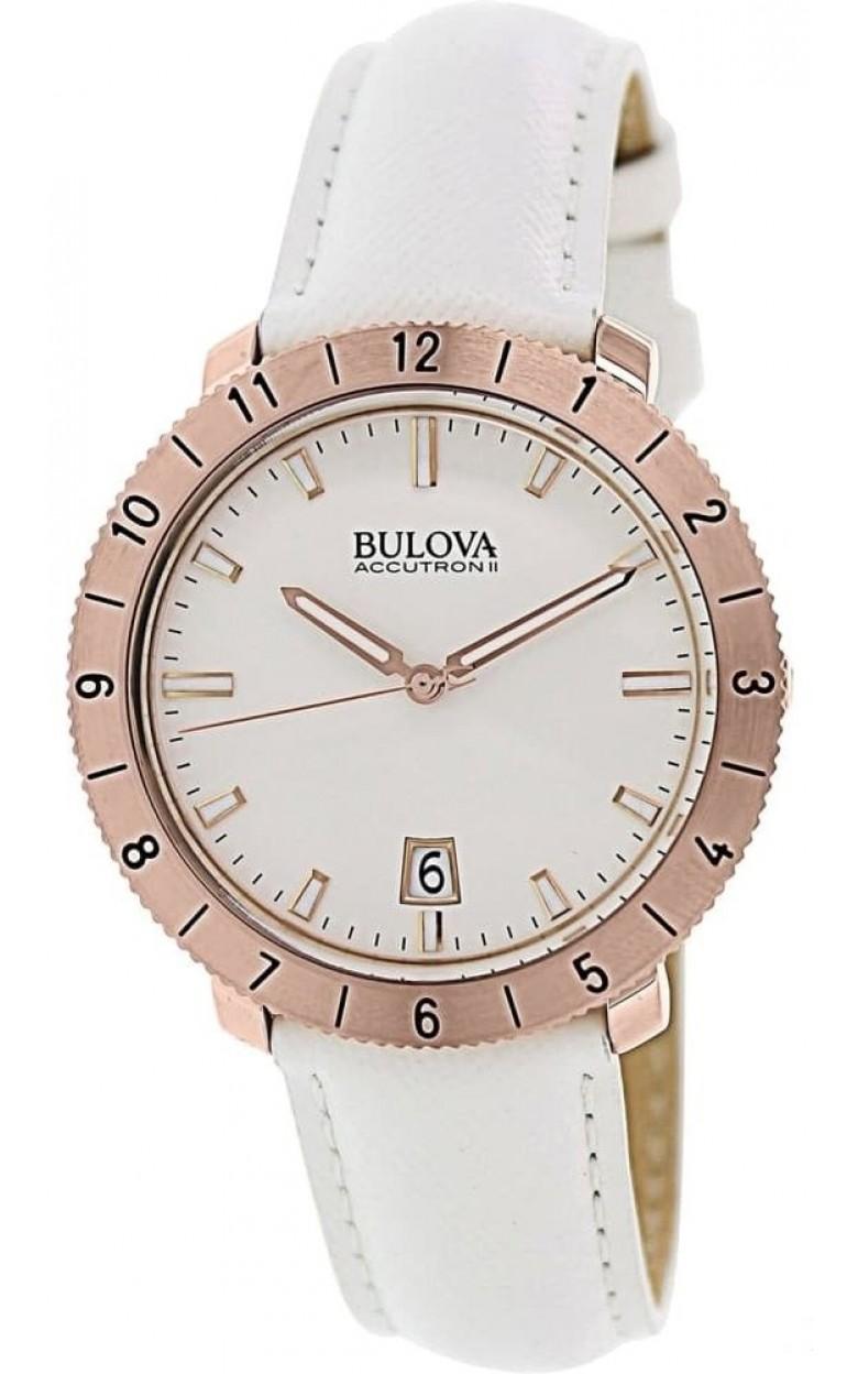 """97B128_ucenka  кварцевые наручные часы Bulova """"Accutron II""""  97B128_ucenka"""