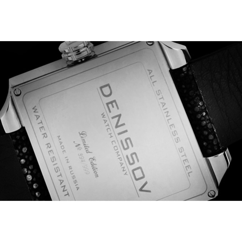 """955.112.4027.4.S.575 российские кварцевые наручные часы Денисов """"ENIGMA"""" для женщин  955.112.4027.4.S.575"""