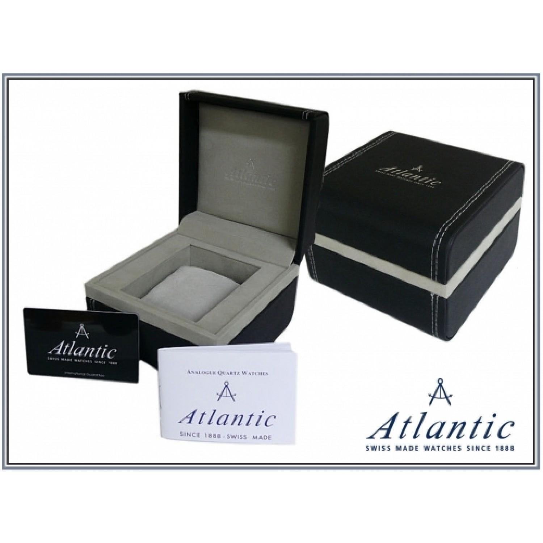 "50346.41.41 швейцарские мужские кварцевые часы Atlantic ""Seacrest""  50346.41.41"
