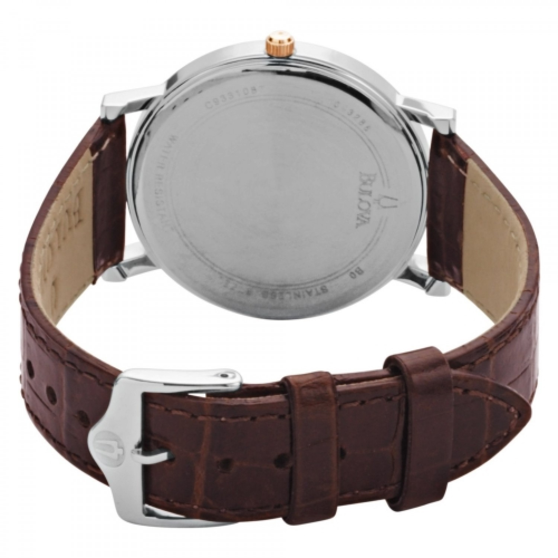 98H51 BU0062 швейцарские мужские кварцевые наручные часы Bulova  98H51 BU0062
