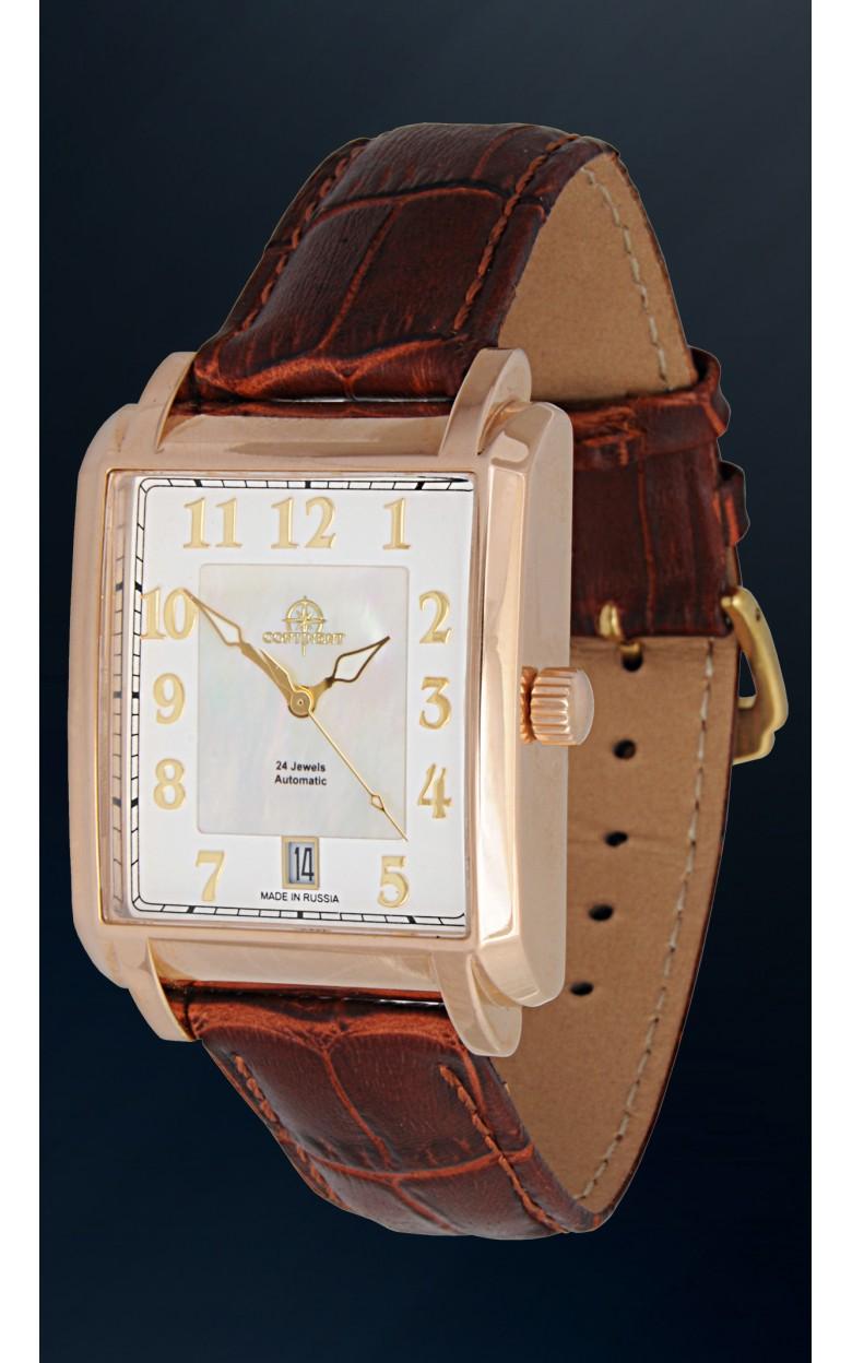 125.2.9015 российские золотые универсальные механические наручные часы Continent  125.2.9015
