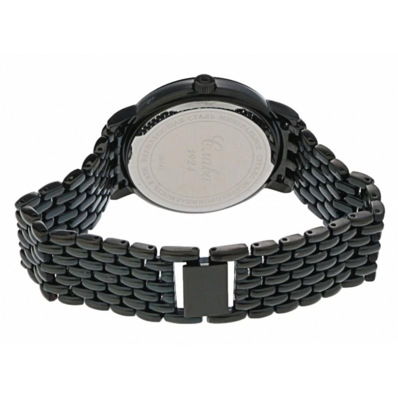 """1414703/2115-100 российские кварцевые наручные часы Слава """"Традиция"""" для мужчин  1414703/2115-100"""