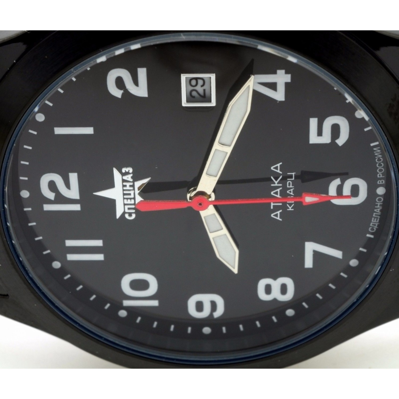 С2104308-2115-05 российские мужские кварцевые наручные часы Спецназ