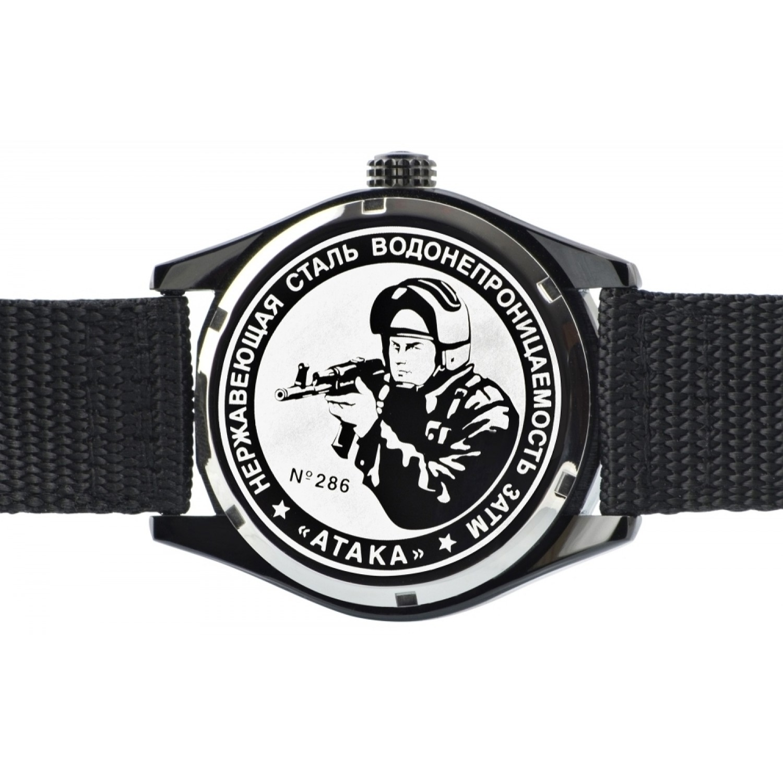 С2864352-2115-09 российские военные кварцевые наручные часы Спецназ