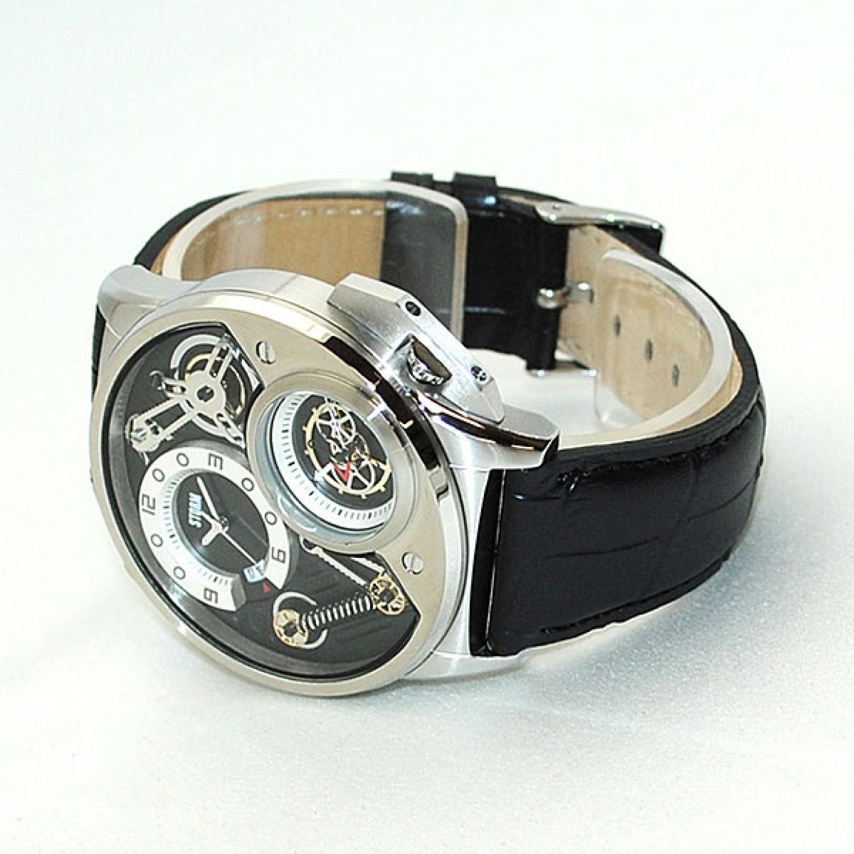 """47239/BK  мужские кварцевые наручные часы Storm """"Dualtron""""  47239/BK"""