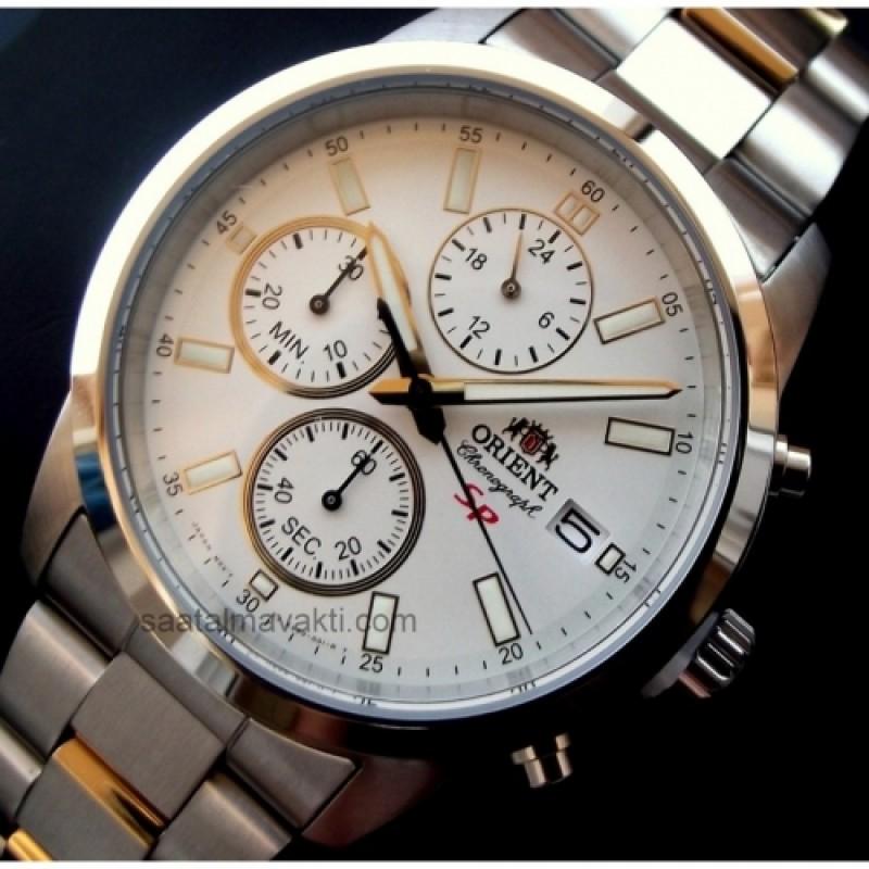 "FKU00001W0 японские кварцевые наручные часы Orient ""Spoty Chrono"" для мужчин  FKU00001W0"