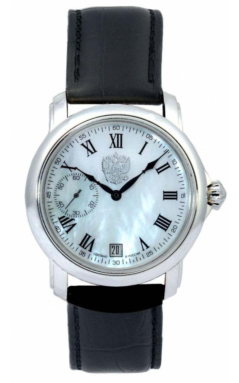 3105/119107П  механические наручные часы Премиум-Стиль логотип Герб РФ  3105/119107П