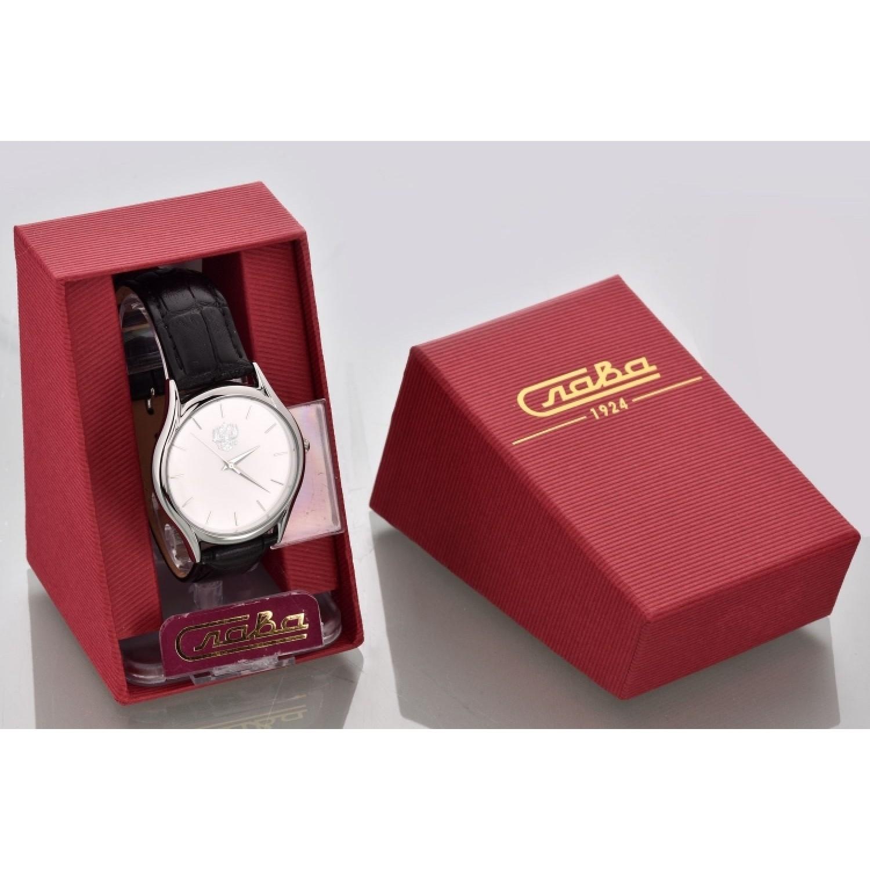 1111534/2035 российские универсальные кварцевые часы Слава