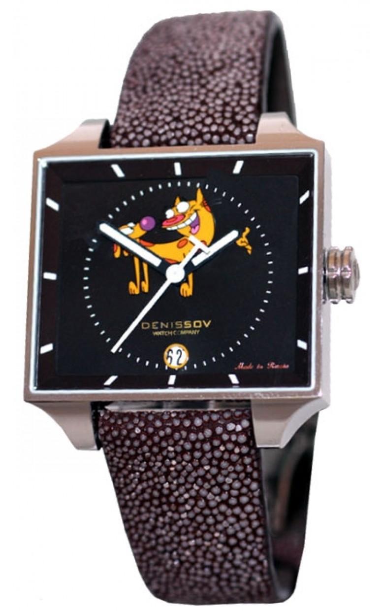 """955.112.4027.4.R.cat российские кварцевые наручные часы Денисов """"Denissov"""" для женщин  955.112.4027.4.R.cat"""