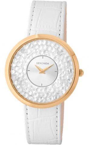 1W391/3K российские кварцевые наручные часы Sekonda для женщин  1W391/3K