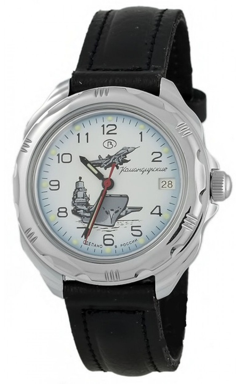 """211982/2414 российские военные механические наручные часы Восток """"Командирские"""" для мужчин  211982/2414"""