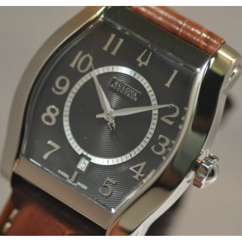 63F67 швейцарские мужские механические часы Bulova  63F67