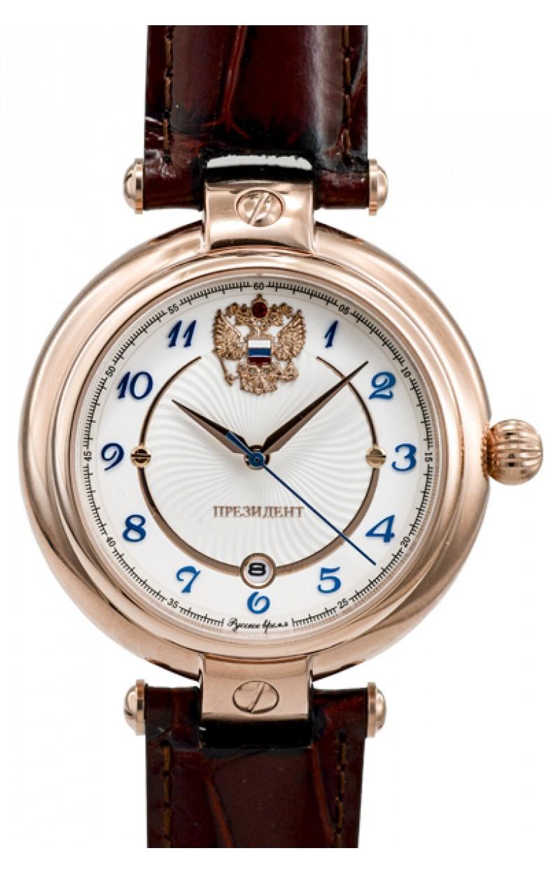 4899210 российские механические наручные часы Президент для мужчин логотип Герб РФ  4899210