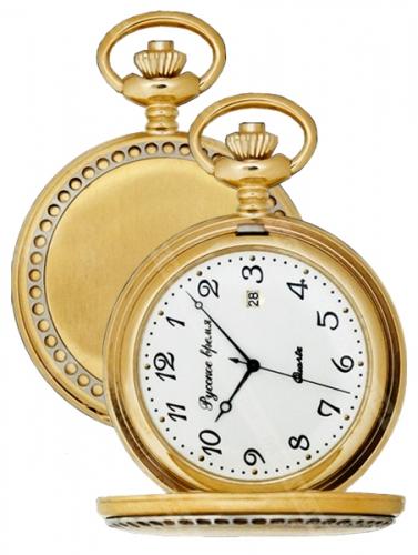 2774281  кварцевые карманные часы Русское время  2774281