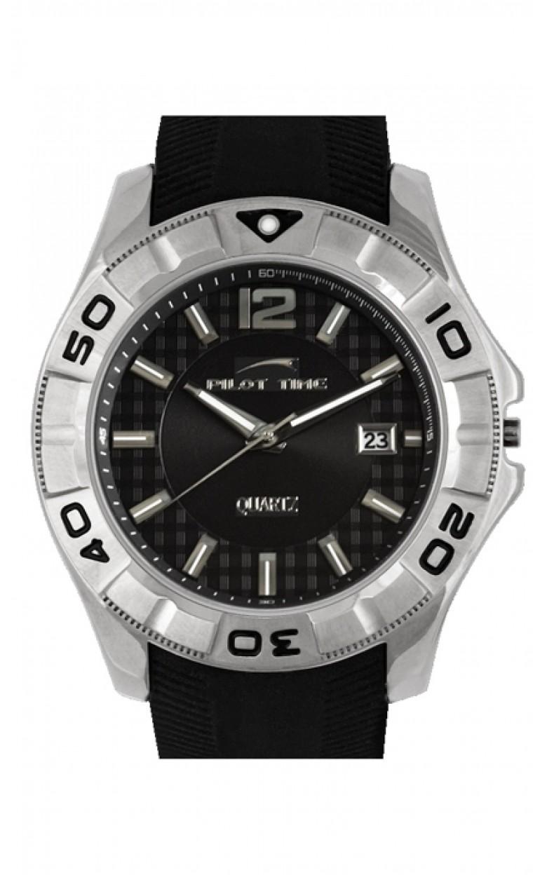 1265594кк российские мужские кварцевые часы Pilot-Time