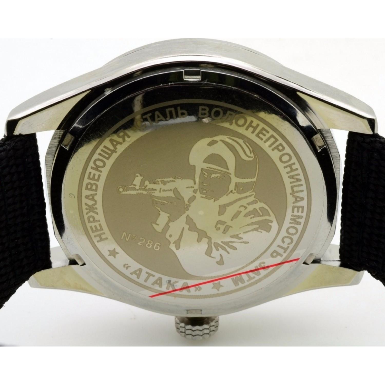 С2861323-2115-09 российские военные мужские кварцевые часы Спецназ С2861323-2115-09
