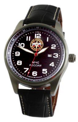 """С9370352-2115 российские мужские кварцевые наручные часы Спецназ """"Профессионал"""" логотип МЧС России  С9370352-2115"""