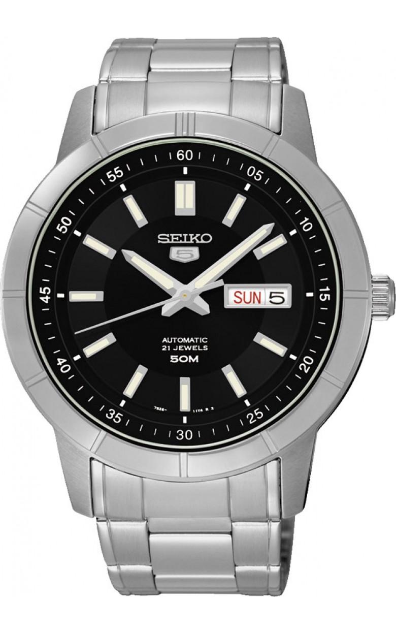 """SNKN55K1S японские мужские механические часы Seiko """"Three Hands Day""""  SNKN55K1S"""