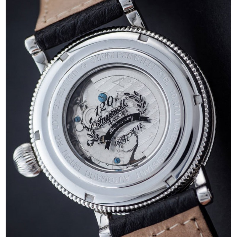 """IN1501BKOR  механические наручные часы Ingersoll """"Stanford"""" для мужчин  IN1501BKOR"""