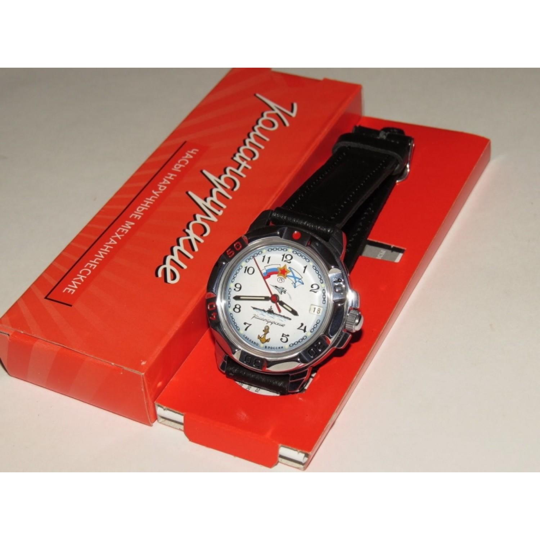 """431241/2414 российские военные механические наручные часы Восток """"Командирские"""" для мужчин  431241/2414"""