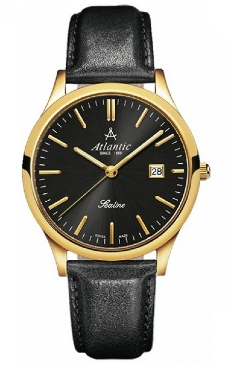 62341.45.61 швейцарские кварцевые наручные часы Atlantic