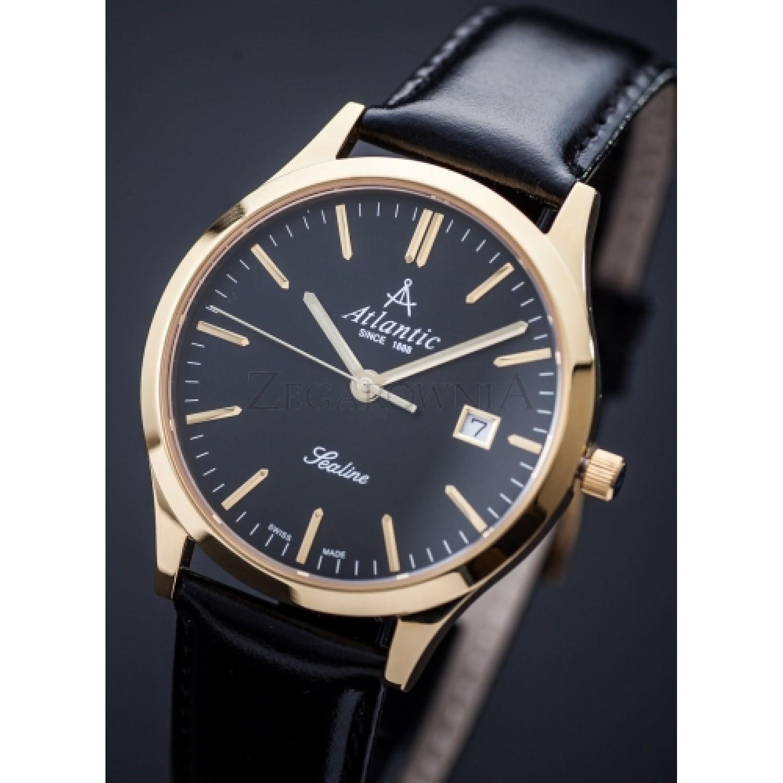 """62341.45.61 швейцарские кварцевые наручные часы Atlantic """"Seabase"""" для мужчин  62341.45.61"""