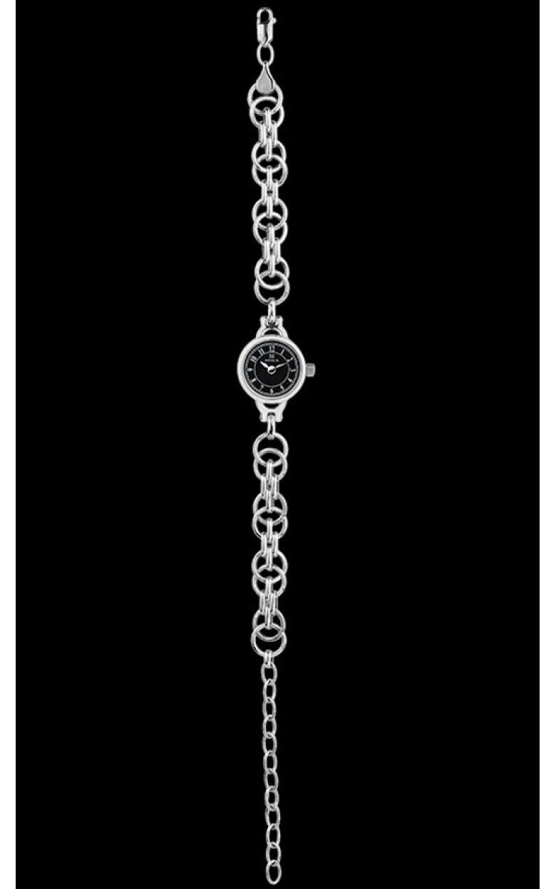 0325.0.9.52А-14.35 российские серебрянные кварцевые наручные часы Ника