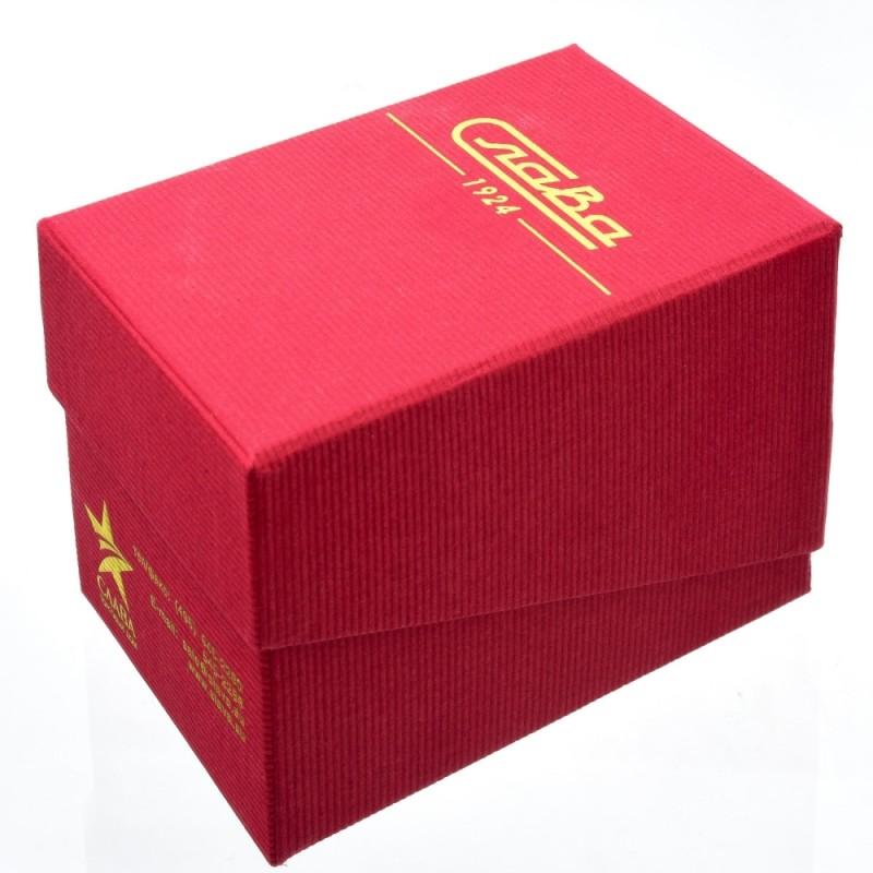 """1261459/2115-300  кварцевые наручные часы Слава """"Традиция"""" логотип Герб РФ  1261459/2115-300"""