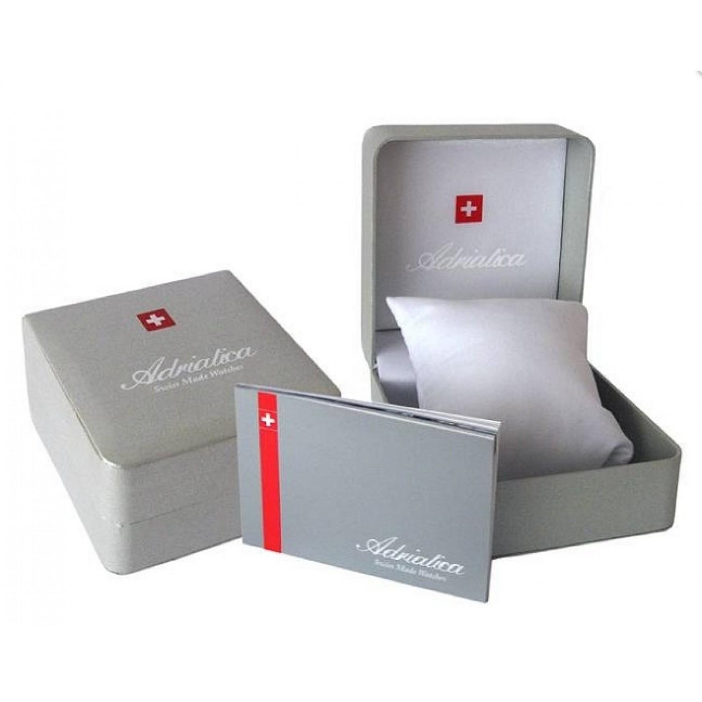 "A8242.1213Q швейцарские кварцевые наручные часы Adriatica ""Strap"" для мужчин  A8242.1213Q"