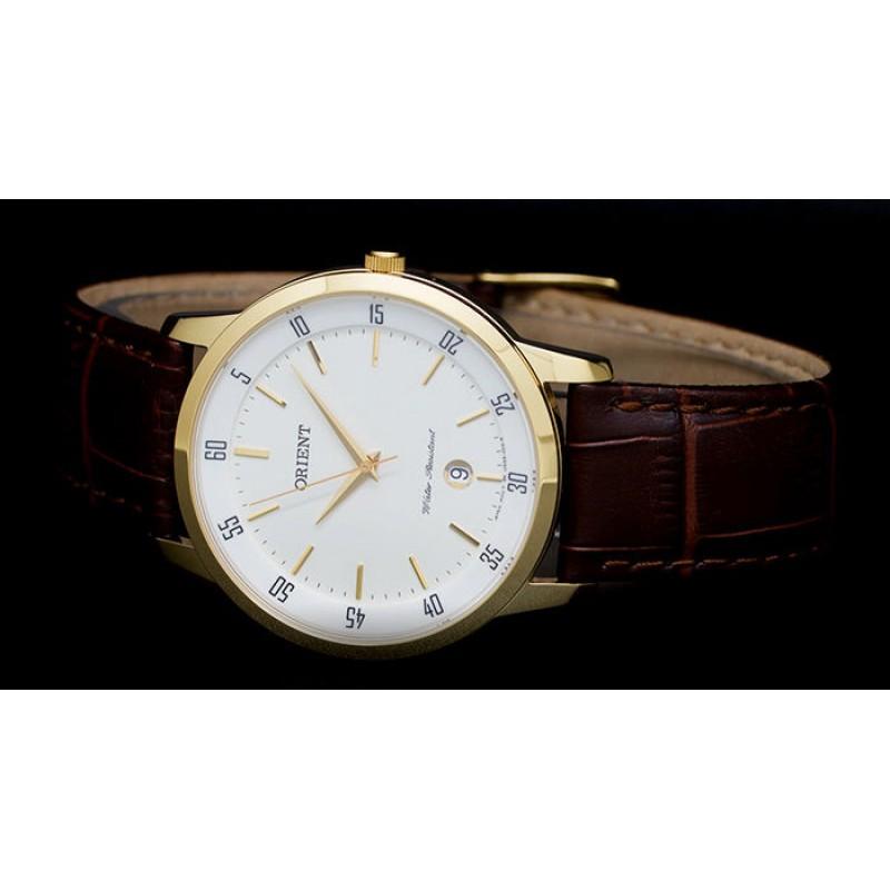 "FUNG5002W0 японские кварцевые наручные часы Orient ""Dressy"" для мужчин  FUNG5002W0"