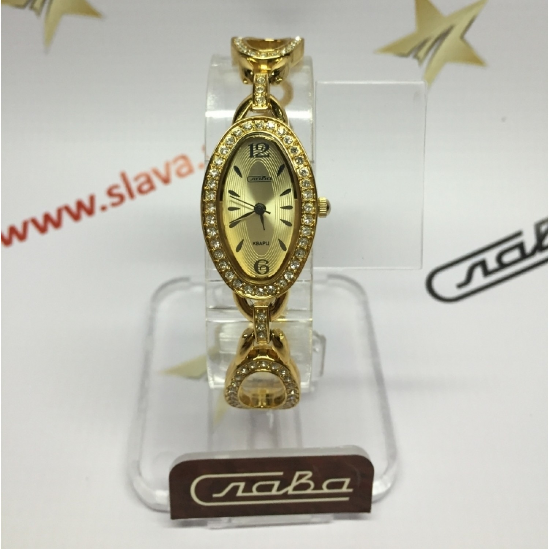 6133192/2035 российские женские кварцевые наручные часы Слава