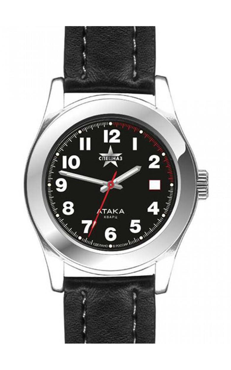 С2001278-2115-04 российские мужские кварцевые часы Спецназ