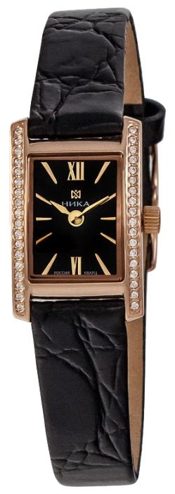 """0450.2.1.55A российские золотые кварцевые наручные часы Ника """"Viva"""" для женщин  0450.2.1.55A"""
