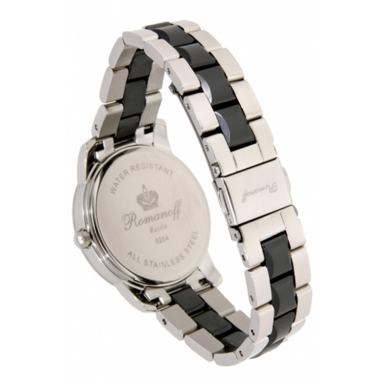 6254T/TB3 российские женские кварцевые наручные часы Romanoff