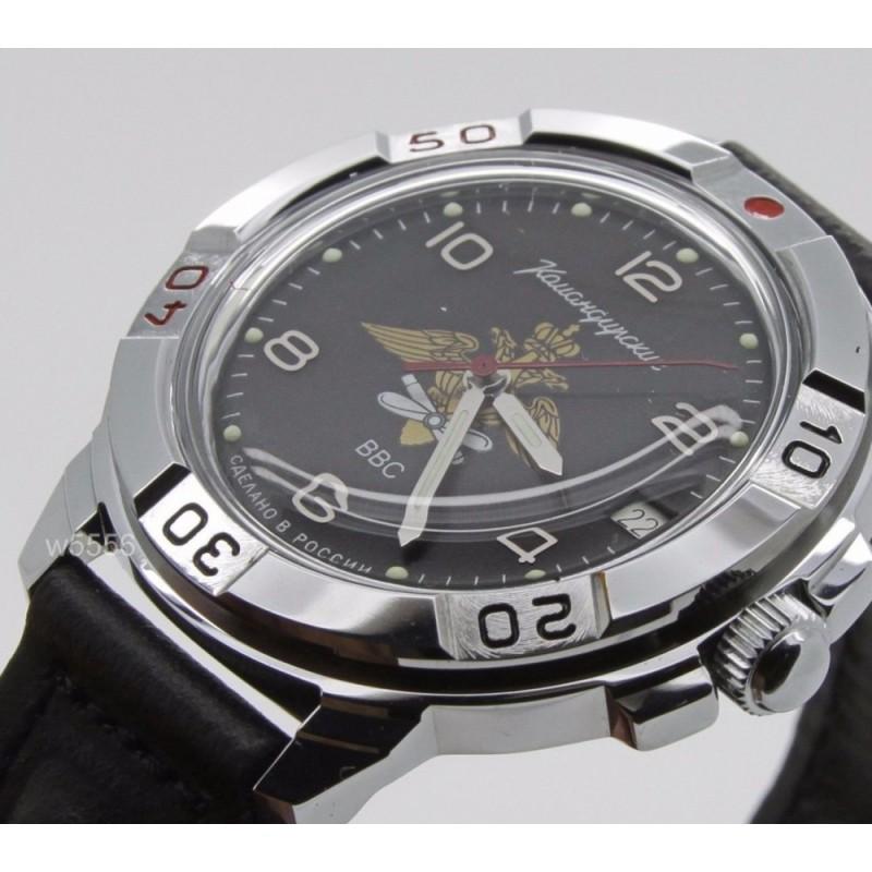 """431928 российские военные механические наручные часы Восток """"Командирские"""" для мужчин  431928"""