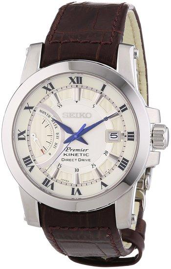 """SRG013P1 японские кварцевые наручные часы Seiko """"Premier"""" для мужчин  SRG013P1"""