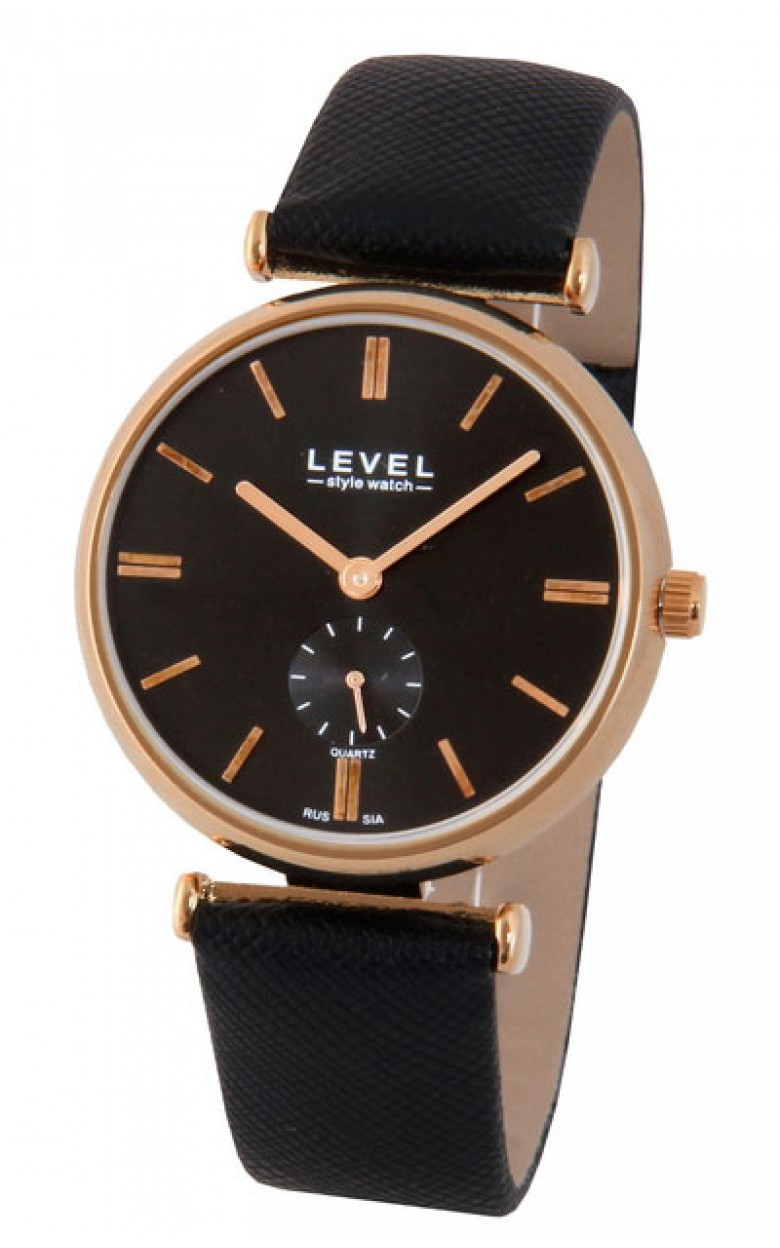 Y121E1/1294417R российские кварцевые наручные часы Level для мужчин  Y121E1/1294417R