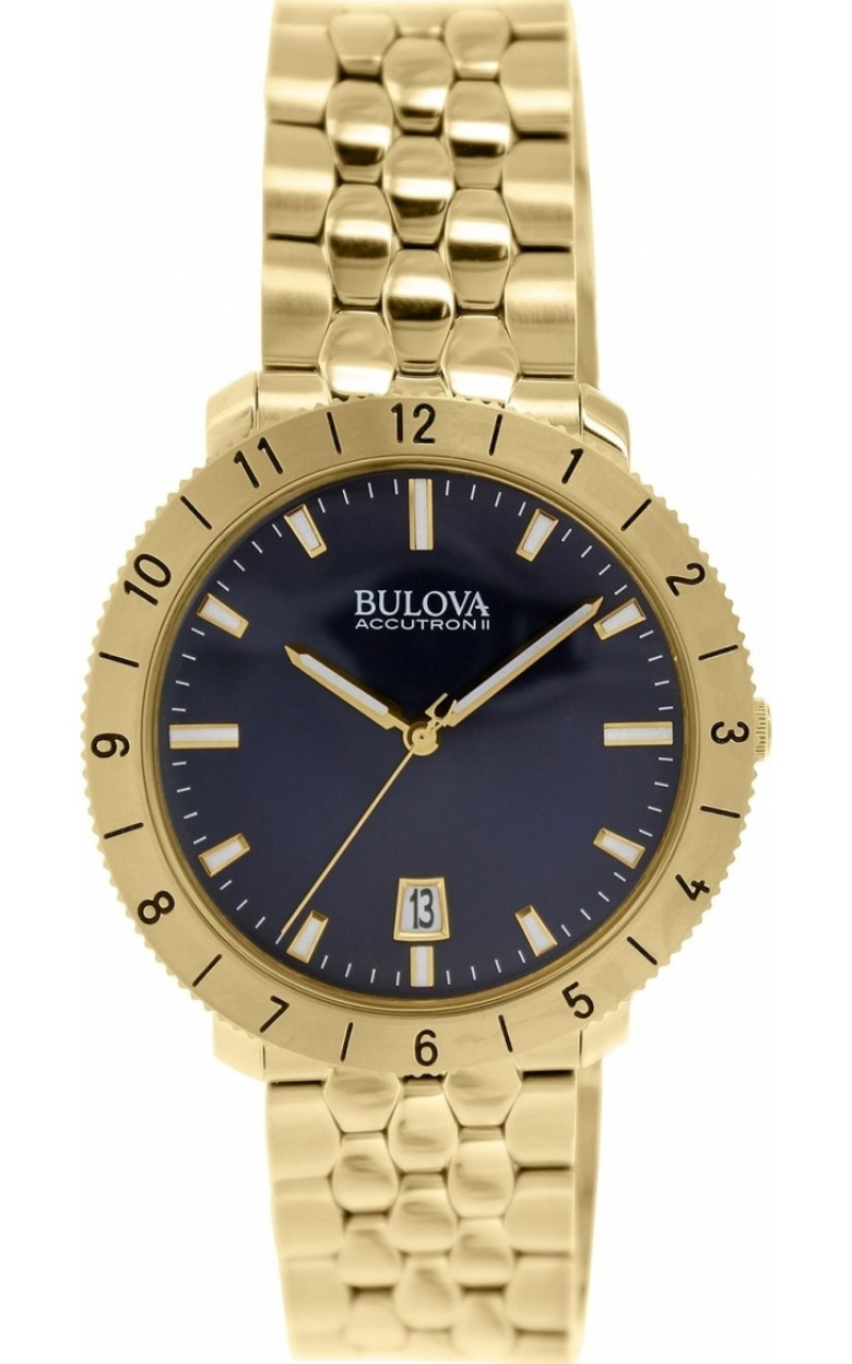 "97B130_ucenka швейцарские кварцевые наручные часы Bulova ""Accutron"" для мужчин  97B130_ucenka"