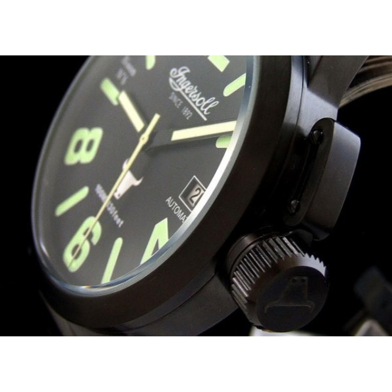 """IN8900BBK  водонепроницаемые механические наручные часы Ingersoll """"Bison"""" для мужчин  IN8900BBK"""