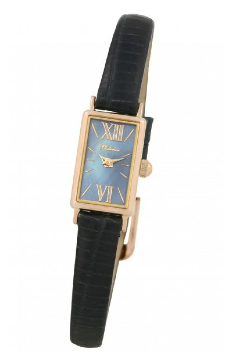 200250.832 российские золотые женские кварцевые часы Platinor  200250.832